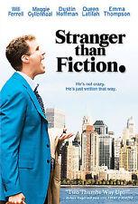 STRANGER THAN FICTION (DVD, 2006, WS) Will Ferrell, Dustin Hoffman  NEW
