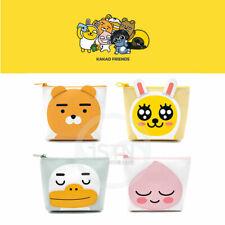 Kakao Friends Triangle Pouch Cosmetic Travel Makeup Bag Case Box Korea Cute Gift