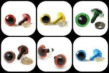 20 Pcs Acrylic Toy Teddy Eyes (10 Pairs) Soft Toy Amigurumi Animal Eyes ML