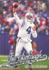 Jim Harbaugh 1997 Fleer Ultra Platinum #P49 Rare! Colts
