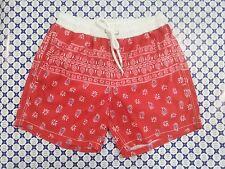 Costume Boxer TURBO -- Rosso Bianco -- Mare Piscina Pallanuoto --39035--S/M/L/XL