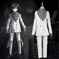 NEW! Anime Danganronpa V3 Ouma Kokichi Cosplay School Uniform costume free shipp