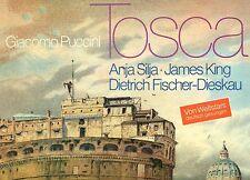 PUCCINI TOSCA ANJA SILJA JAMES KING FISCHER-DIESKAU LORIN MAAZEL LP FOC (L8674)