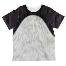 Halloween Panda Bear Costume All Over Toddler T Shirt