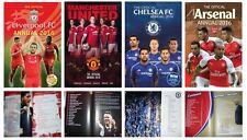 English Premier League Soccer Teams Official Annuals European Football 2016