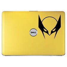 Máscara Superhéroe Wolverine PARACHOQUES/Teléfono/Laptop Pegatina (AS11046)