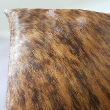 Brindle Cow Hide Pillowcase Cow Skin Leather Pillow Cushion