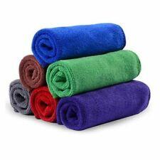 12x Microfibre Cleaning Cloth 40x40cm Microfiber Dish Car Gym Towel Glass Z3B9