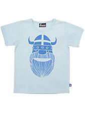 DANEFAE T-Shirt ERIK der Wikinger hellblau Basic 80 86  92 104 110 116 128 NEU