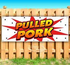 New listing Pulled Pork Advertising Vinyl Banner Flag Sign Many Sizes Usa