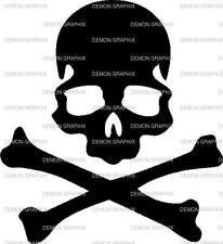 Skull and Crossbones vinyl decal/sticker truck car jeep window laptop race