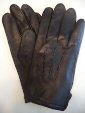 Men's CEO Genuine Leather Driving Gloves,Black