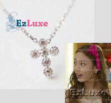 Korean Drama CITY HUNTER Girl Group KARA GOO GU HARA Cross Necklace 925 SILVER