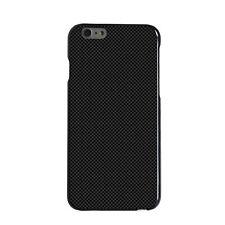 Custom Hard Case Cover for iPhone 5 5S 6 6S PLUS Black Grey Carbon Fiber Print
