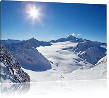 Paysage d/'hiver Tram Montagnes ville mer bateau Wall Art Grande Toile Photos