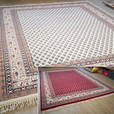 Orientteppich Sarough Mir - Handgeknüpft aus Indien - 100% Schurwolle