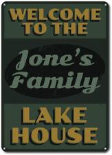 Lake House Sign, Custom Welcome Sign, Lake House Decor ENSA1001074