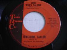 Jeweldine Taylor Look Who's Talking Original 1962 45rpm