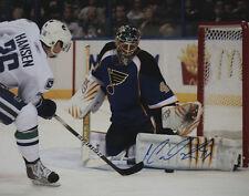 Jaroslav Halak St.Louis Blues Signed Auto 11x14 Photo COA GFA