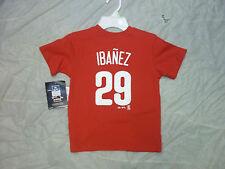 RAUL IBANEZ #29 PHILADELPHIA PHILLIES CHILD (4-7) SIZE TSHIRT