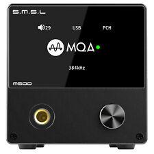 SMSL M500 Audio DAC MQA D/A ES9038PRO DoP XMOS Native DSD512 Headphone Amplifier