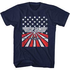 Top Gun 1980's Military Fighter Jet Stars Action Movie Tomcat Adult T-Shirt
