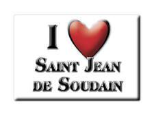 MAGNETS FRANCE - LORRAINE SOUVENIR AIMANT I LOVE SAINT JEAN DE SOUDAIN (ISÈRE)