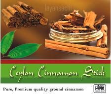 Finest A+ Quality Pure ALBA GRADE Organic Ceylon CINNAMON Sticks