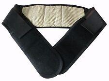UK venditore! tormalina auto-riscaldante magnetica Cintura in Vita Controvento Sollievo dal Dolore Schiena