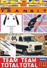 DECAL FORD TRANSIT ASSISTANCE TEAM TOTAL PCA MOTORSPORT 1979 (09)