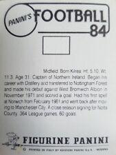 PANINI FOOTBALL 84 autocollants (1-250) - Complétez votre collection
