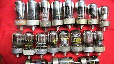 Pairs & singles of Loktal Tubes FM-1000, 50X6, 35Z3, 35Y4, 35A5, 14B6, 7X7 #1217