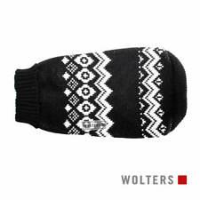 Wolters Norweger Hunde Pullover schwarz/weiß, diverse Größen, NEU