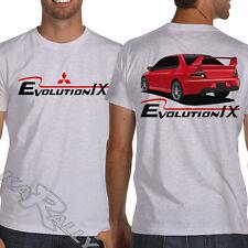 Lancer Ralliart Evolution IX White or Gray Jdm T-Shirt Evo 9 Rally WRC