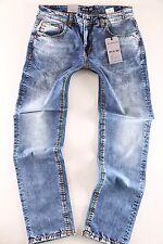 BIG SEVEN Clubwear Jeans Herren Hose Jay medium blue  W30 -W52 Dicke Naht B2B