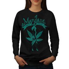 Mary Jane Puff Pass Women Sweatshirt NEW | Wellcoda