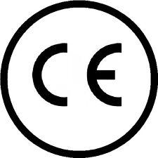 CE Logo Labels (Stickers) 15mm diameter
