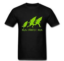 Run Forest Run Gump Deforestation Ecosystem Save Earth Biology Vegan Tee t shirt