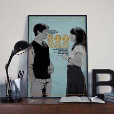 500 Days of Summer Zooey Movie Film Affiche/Impression/photo A3 A4 T