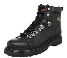 """Harley-Davidson® Men's 5.5"""" Dipstick Black Leather Motorcycle Biker Boots D91610"""