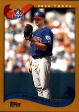 2002 Topps Baseball Base Singles #487-613 (Pick Your Cards)