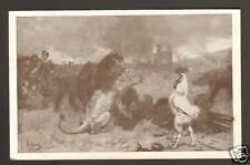 """""""SECOURS NATIONAL"""" par DURAND 1915 / COQ ,OURS & LION"""