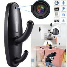 Spy Camera Motion Detection Hidden Clothes Hook DVR Nanny Babysitting Cam USA KK