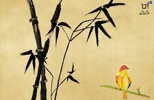 155478 Beautiful Chinese Bird Wall Wall Print Poster CA