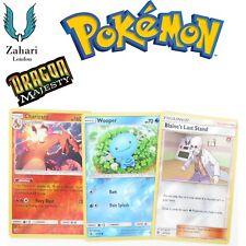Pokemon Dragon Majesty Reverse Holo Rare (Un) Common Single Individual Cards!