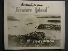 Sidney Australia Harbor Treasure Island PHOTO 959s