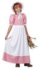Child Earily American Girl Pioneer Prairie Girl Costume