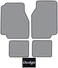 1978-1979 Dodge Magnum Cutpile Carpet Logo Floor Mat 4pc