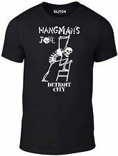 Mens Hangman's Joke T-Shirt - The Crow Brandon Lee Bruce Eric Draven Horror