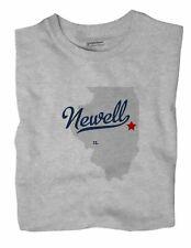 Newell Illinois IL Ill T-Shirt MAP